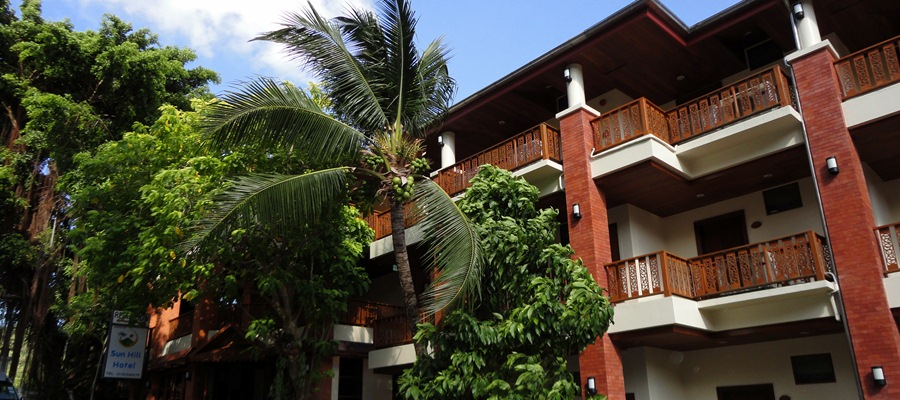 Simply the best value for money Patong accommodation -Full service Patong hotel with pool in small tropical garden.