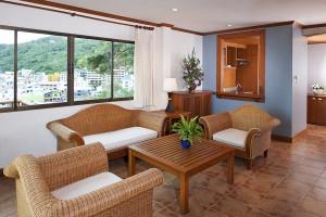 Phuket Hotel Suite Livingroom