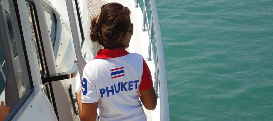Here is an example of Phuket activities, which you can book from Sun Hill Hotel Patong front desk - Daytrip with a luxury yacht